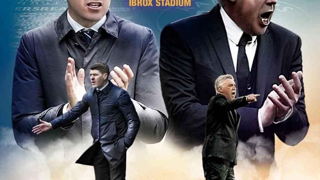 Amistoso entre Rangers y el Real Madrid