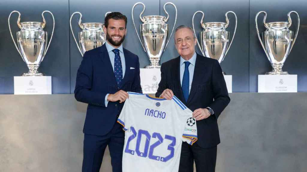 Nacho renueva con el Real Madrid