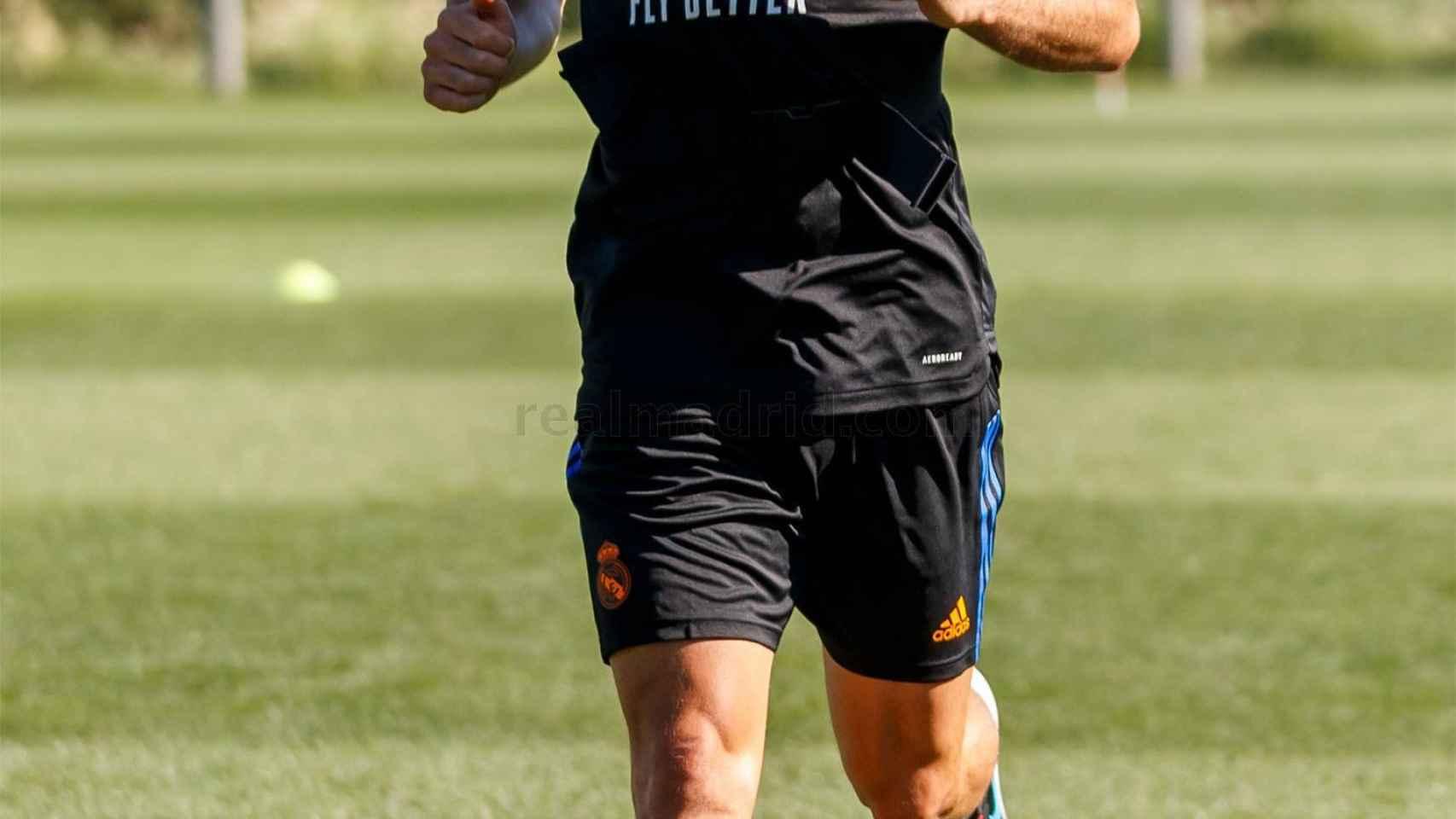 Dani Carvajal, con este sistema novedoso de entrenamiento con oxígeno