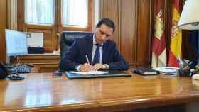 Álvaro Martínez Chana, presidente de la Diputación de Cuenca. Foto: EDCM.