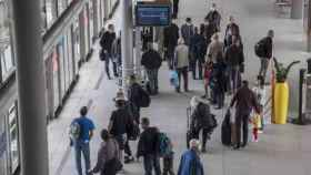 Terminal del aeropuerto Charle de Gaulle de París.