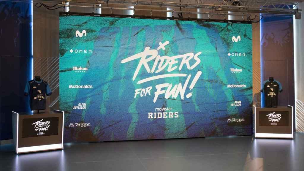Presentación de 'Riders for fun', el nuevo proyecto del club.
