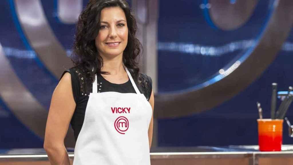 La cocinera Vicky Pulgarín.