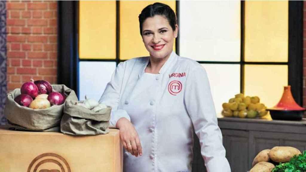 La cocinera Virginia Naranjo.