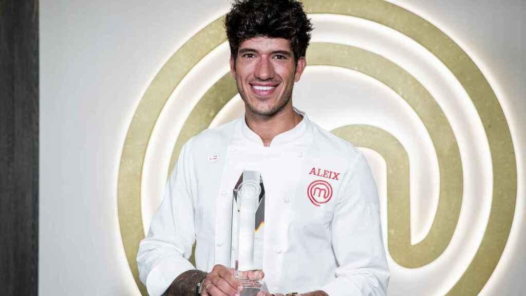 El cocinero catalán Aleix Puig.