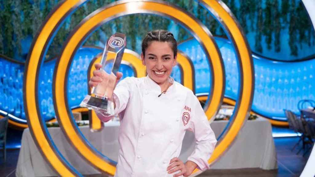 La última ganadora del talent culinario, Ana Iglesias.