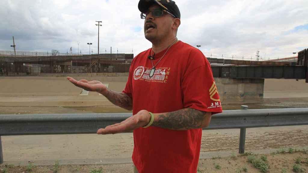El encargado de la Casa de Apoyo a Veteranos Deportados, Iván Ocón.