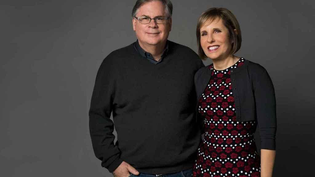 Robert y Michelle King, creadores de 'The Good Fight'.