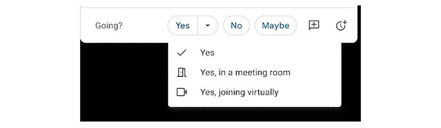 Cómo indicar asistencia en Google Calendar