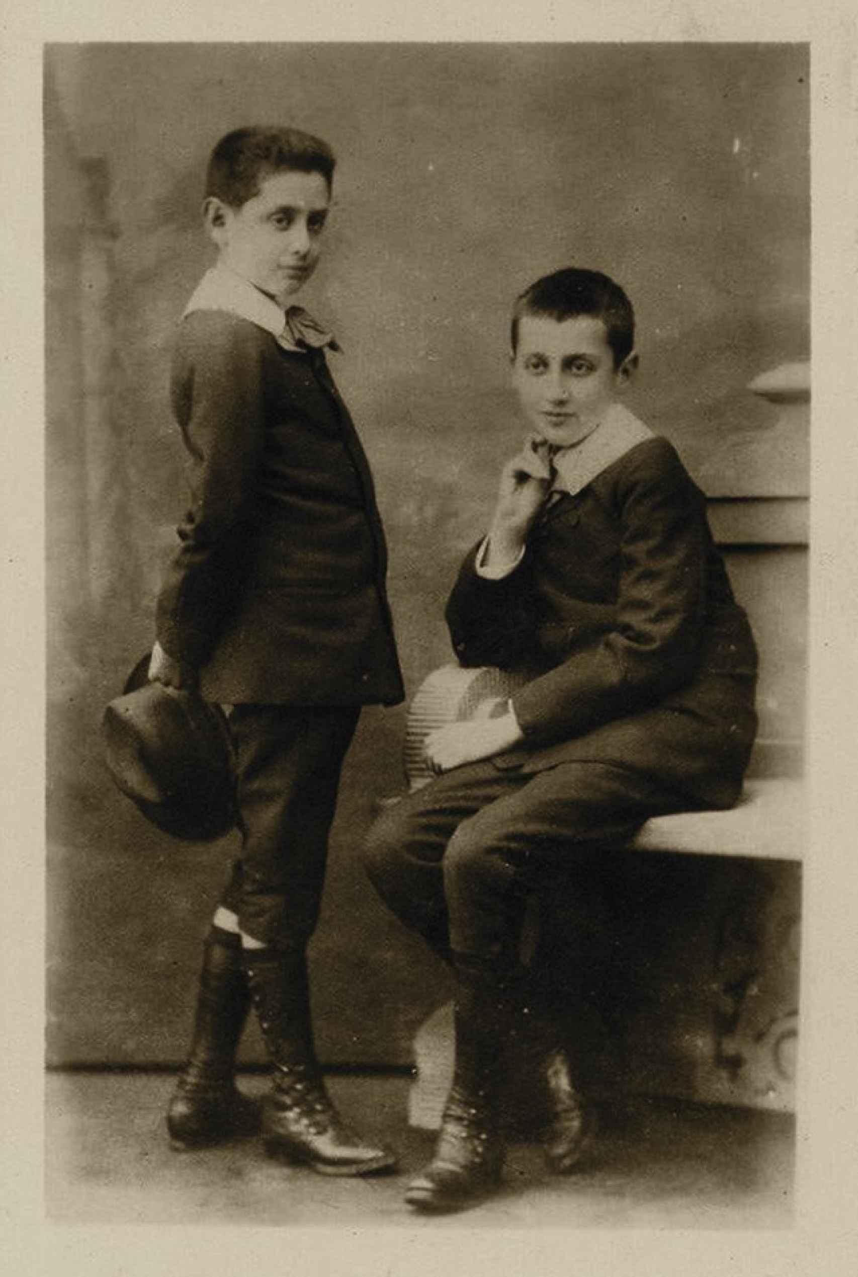 Marcel y Robert Proust