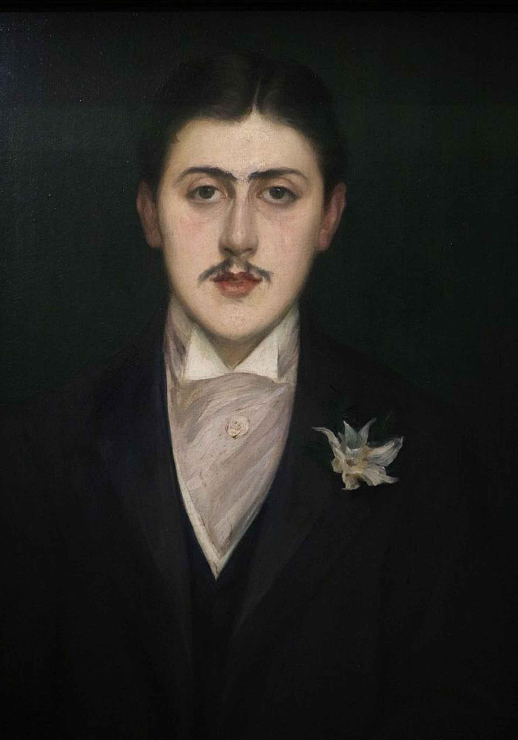 Retrato de Marcel Proust, Jacques-Émile blanche (1892)