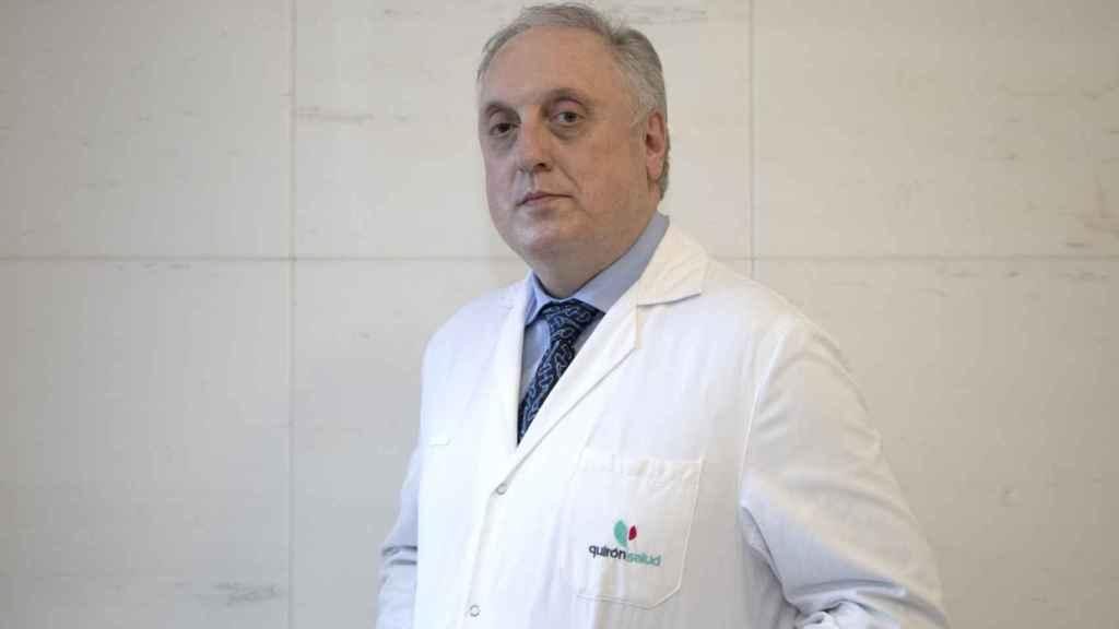 Adolfo López de Munain, jefe de Neurología del Hospital de Donostia.
