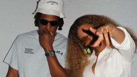 Beyoncé y Jay-Z en Los Hamptons.