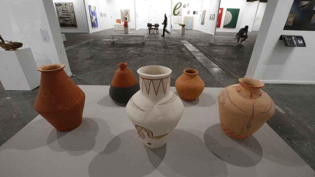Obras de la galería Mor Charpentier de Paris y Bogotá en la 40 edición de ARCO.