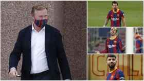 Koeman, Messi, Griezmann y Agüero