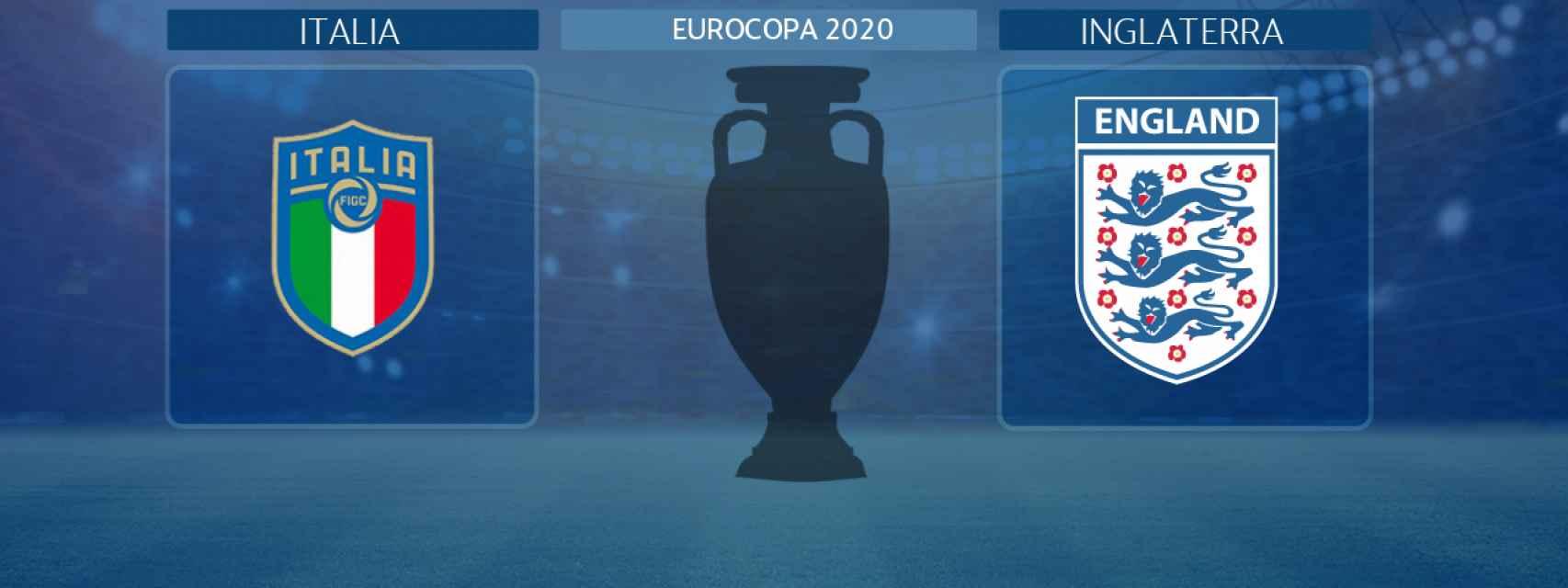 Italia - Inglaterra, final de la Eurocopa 2020