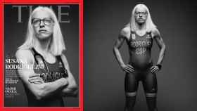 Susana Rodríguez, en la portada de Time
