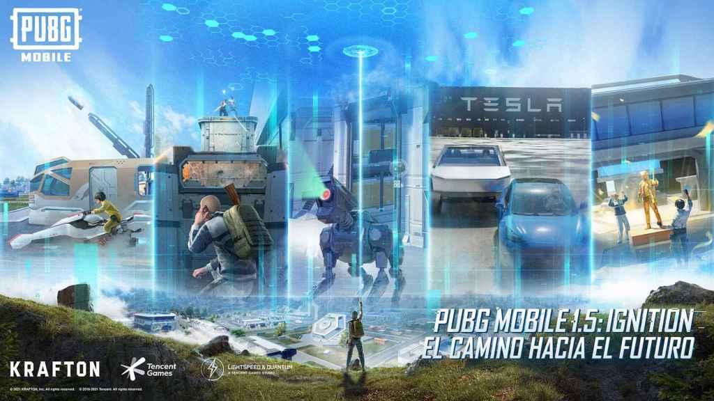 Tesla y PUBG Mobile se alían: Elon Musk deja su sello en Erangel con su gigafactoría