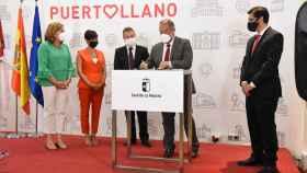 La firma de los convenios entre la Junta y la UCLM se ha producido en Puertollano