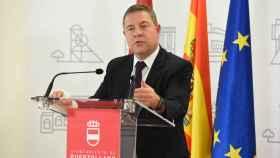 Emiliano García-Page, presidente de Castilla-La Mancha. Foto: JCCM