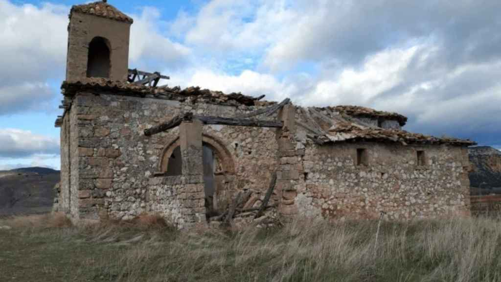 Iglesia de Nuestra Señora de la Blanca, en Matillas. Foto: Hispania Nostra.