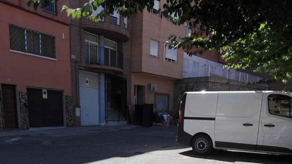 Inmuebles okupados en el barrio de Santa Bárbara, Toledo.