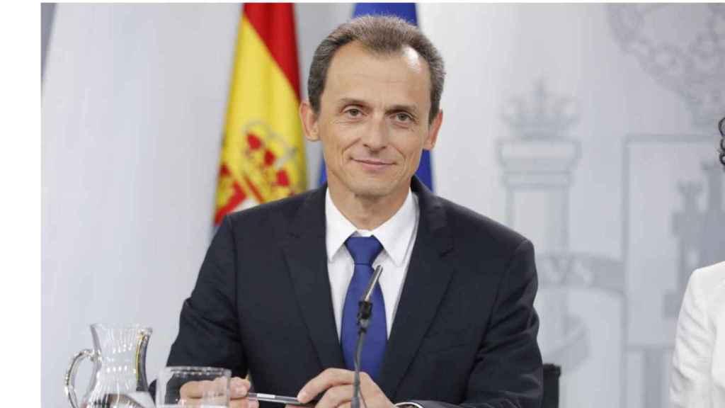 Pedro Duque en imagen de archivo, todavía ministro.