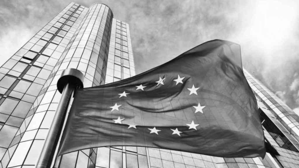 Imagen de una bandera europea.