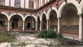 Imagen de archivo del estado en el que se encuentra el convento de San Agustín.