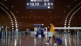 El aeropuerto Charles de Gaulle, en Paris.