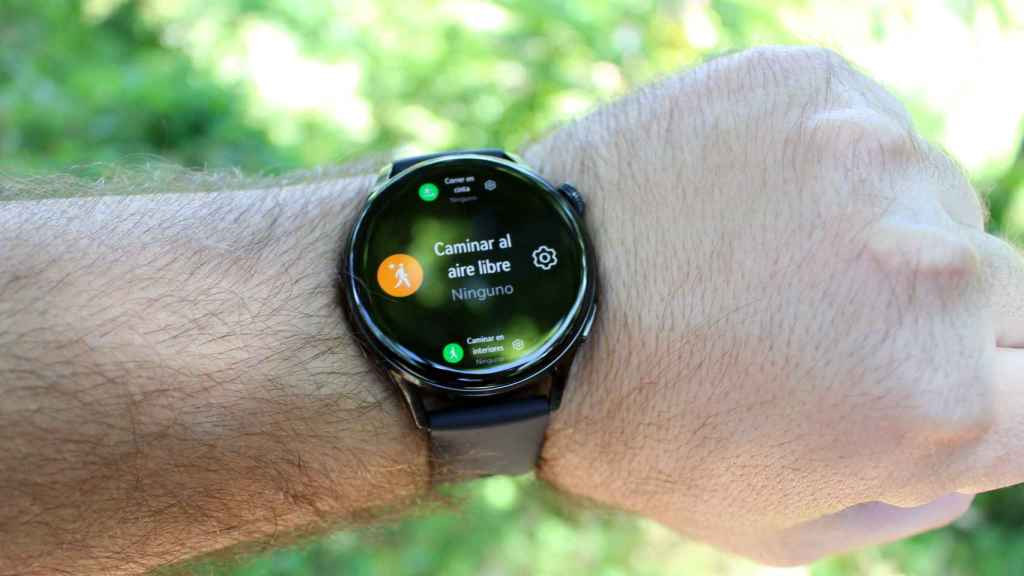 El Huawei Watch 3 puede medir hasta 100 modos deportivos.