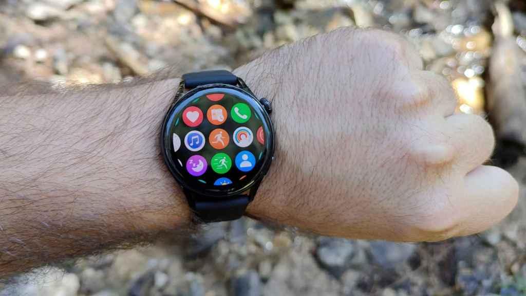 Así es el cajón de aplicaciones del Huawei Watch 3.