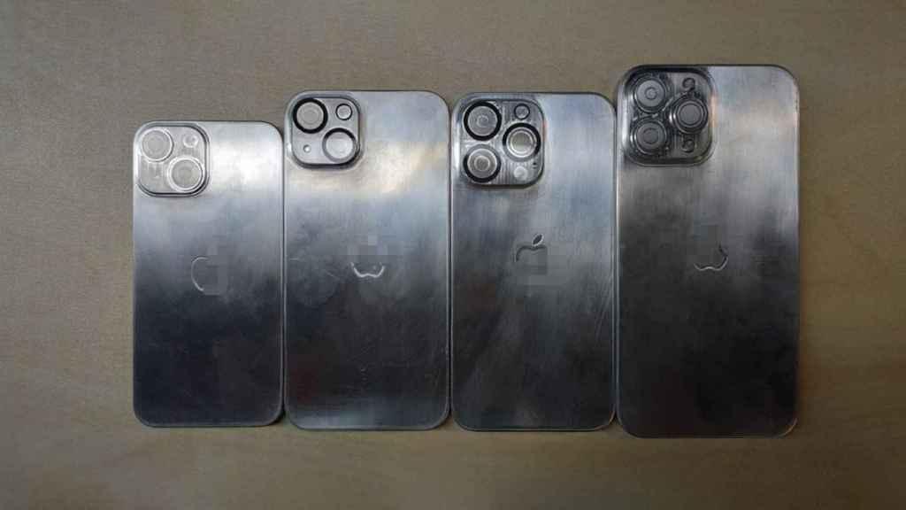 Moldes de iPhone 13 para carcasas