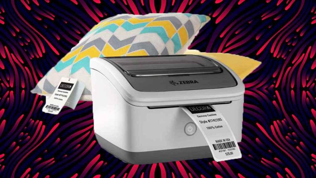 Impresora Zebra, una de las afectadas.