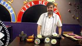 Los cinco guacamoles probados por Ernesto Díaz, propietario de los restaurantes mexicanos Las Mañanitas.