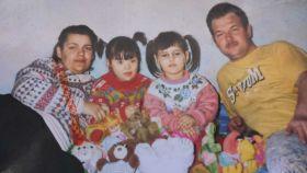 La familia Bitea al completo.