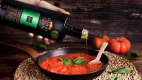 Una imagen del aceite de oliva virgen extra de Palacio de los Olivos.
