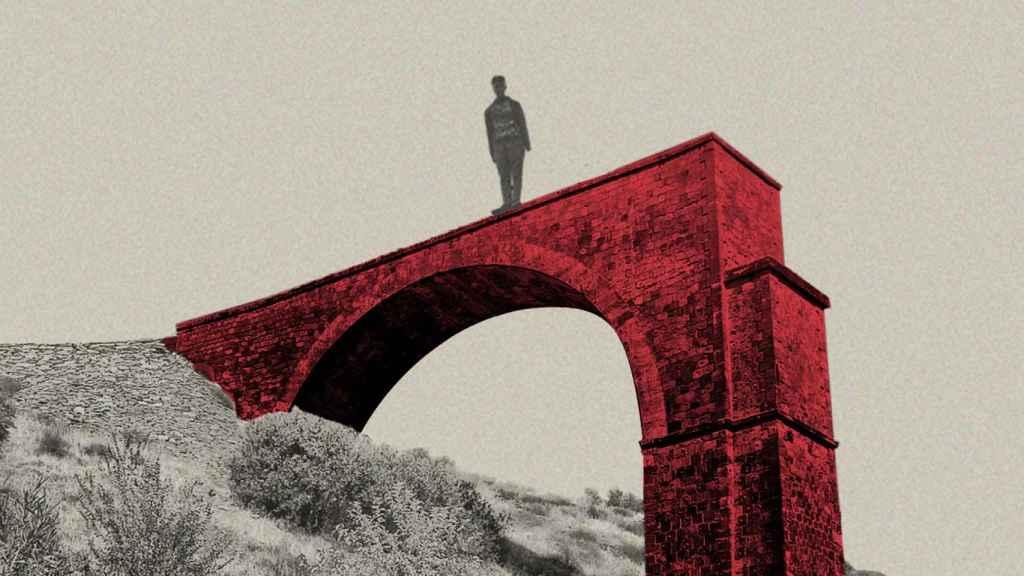 Ilustración basada en el puente de la Aquisgrana, de La Carolina