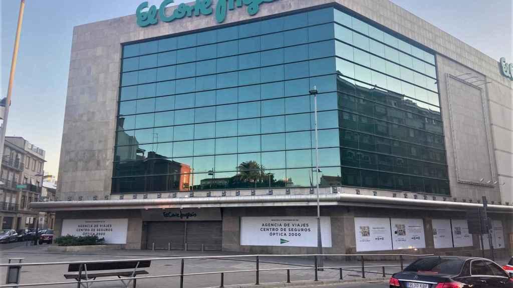 El Corte Inglés de Linares está cerrado