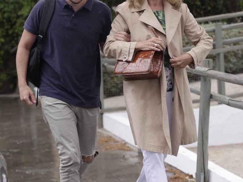 Manuel Martos con Ana Rodríguez