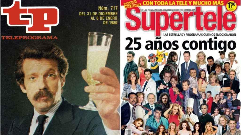 Hearst España echa el cierre a las míticas revistas Teleprograma y Supertele