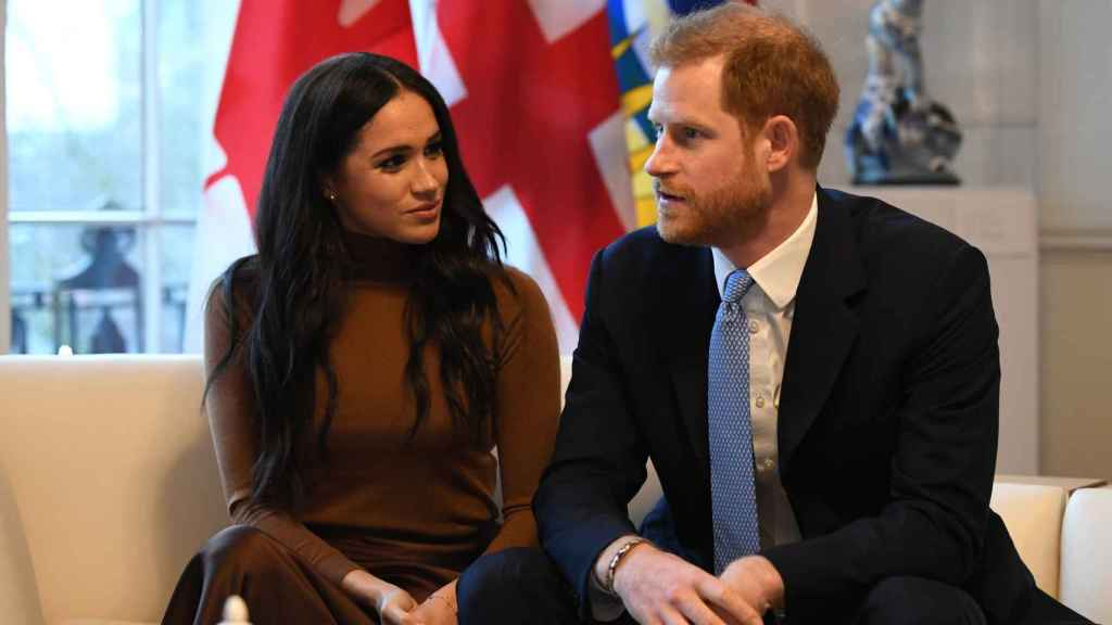 Meghan y Harry en un viaje a Canadá.