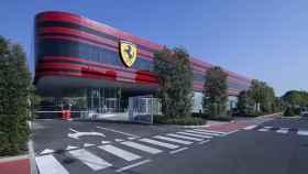 El edificio donde está el nuevo simulador de Ferrari