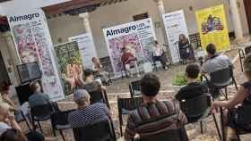 Presentación del Día de Navarra en el Festival Internacional de Teatro Clásico de Almagro.