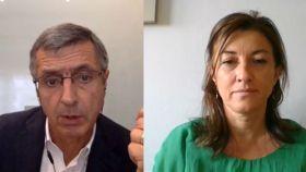 Francisco Román y Ana Sainz de Fundación Seres.