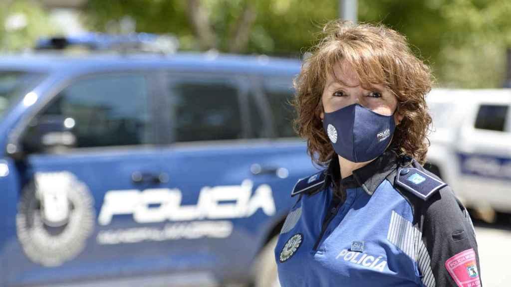 Isabel entró en la Policía Municipal en 1981, 10 años después de que admitiesen a las mujeres en el Cuerpo.