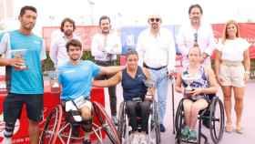 Los protagonistas del IX ITF Wheelchair Fundación Emilio Sánchez Vicario en La Ciudad de la Raqueta