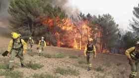 Incendio en la localidad toledana de Carranque