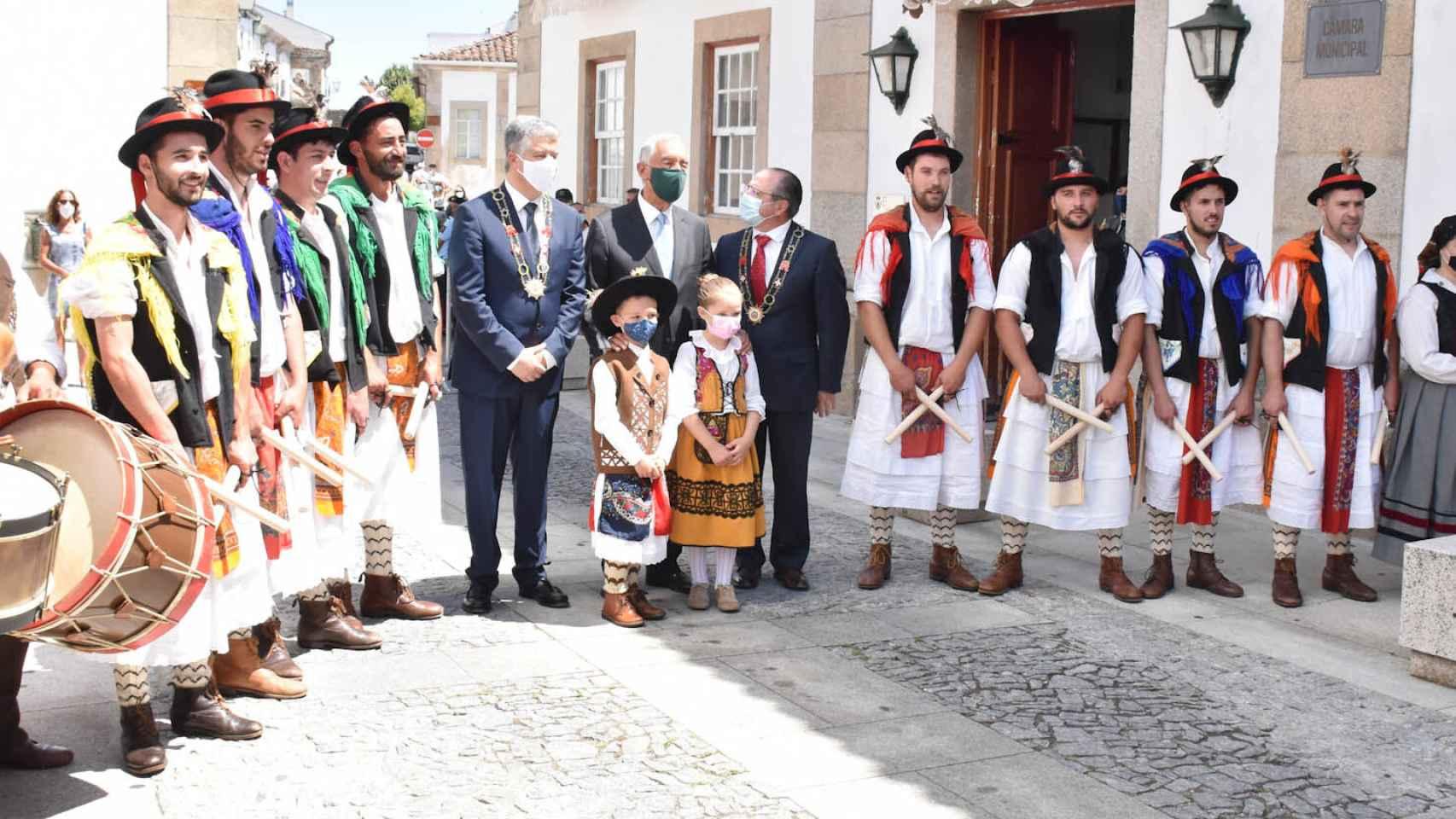 Dia de la Ciudad - Miranda do Douro con visita del presidente de la República de Portugal 1