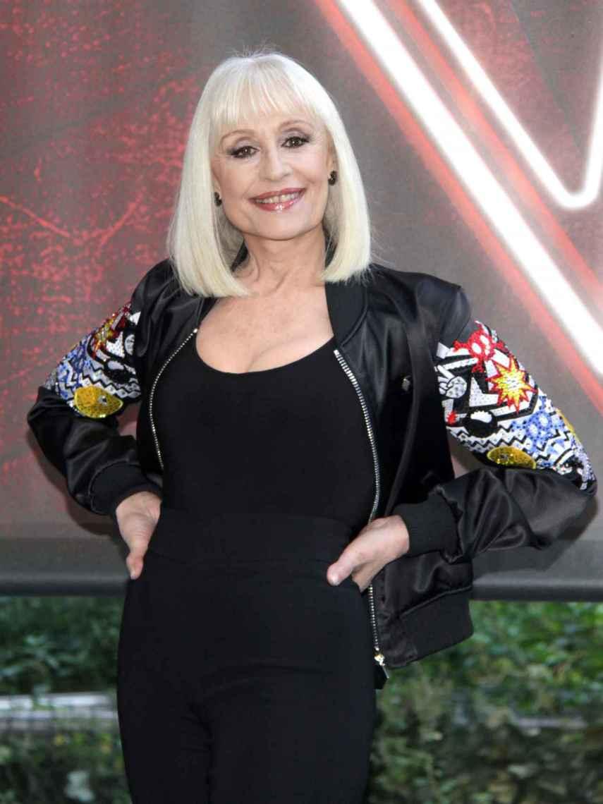 Raffaella Carrà in 'La Voz' Italy.